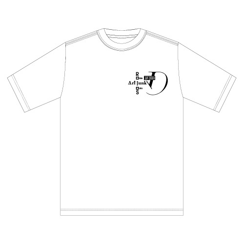 Ride Solo T-Shirt [ラウンドネック]off white【LAST1】