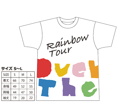 Over The Rainbow TourTシャツ